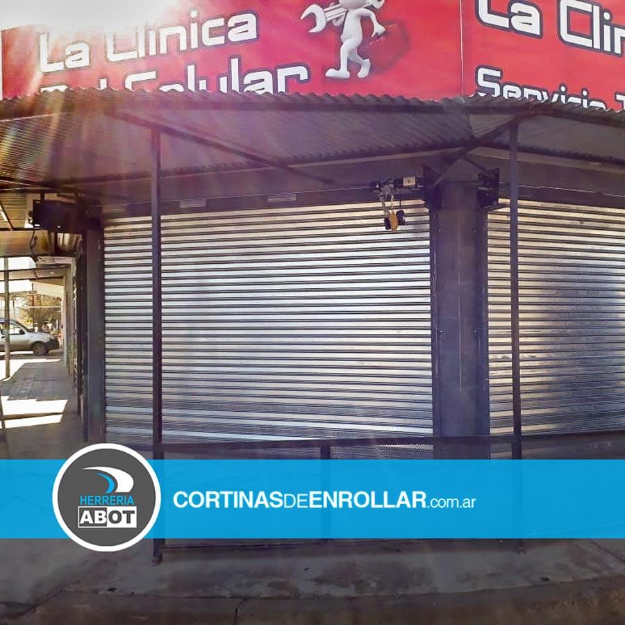 Cortina Galvanizada Ciega en Comercio - Cortinas de Enrollar - Herrería Abot