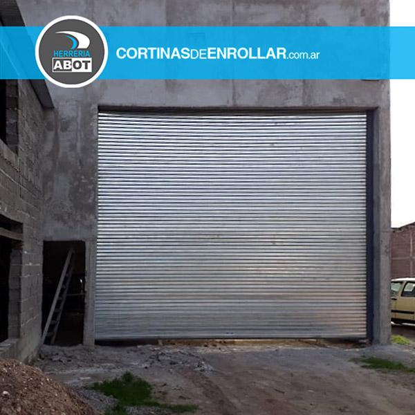 Cortina de Enrollar Ciega para Galpón (Coronel Pringlés, Buenos Aires)