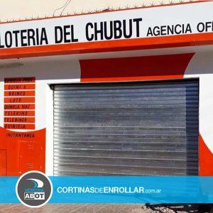 Cortina Galvanizada Ciega en Comercio Trelew - Chubut - Cortinas de Enrollar - Herrería Abot