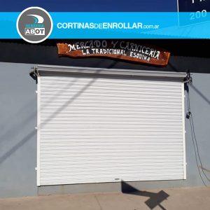 Cortina de Enrollar Blanca Ciega para Comercio (Chimpay, Río Negro)
