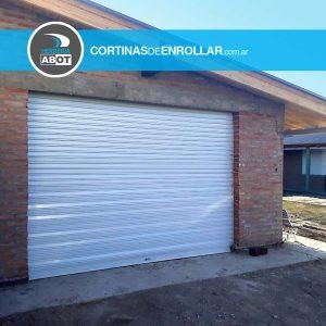 Cortina de Enrollar Blanca Ciega para Garage (Bahía Blanca, Buenos Aires)