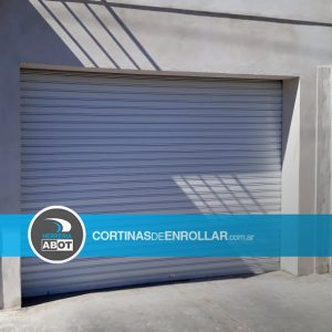Cortina de Enrollar Ciega Blanca para Garage (Salliqueló, Buenos Aires)