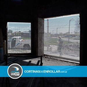 Cortina de Enrollar Microperforada Galvanizada para Comercio (Beltran, Río Negro)