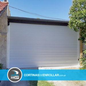Cortina de Enrollar Blanca Ciega para Garage (Punta Alta, Buenos Aires)