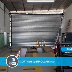Cortina Galvanizada Ciega para VTV en ciudad de Neuquén - Cortinas de Enrollar - Herrería Abot