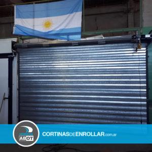 Cortina Galvanizada Ciega en Chimpay - Río Negro - Cortinas de Enrollar - Herrería Abot