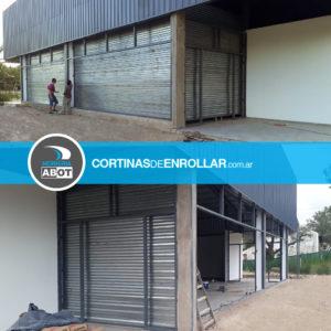 Cortinas de Enrollar Microperforadas para Comercio (Santa Rosa, La Pampa)