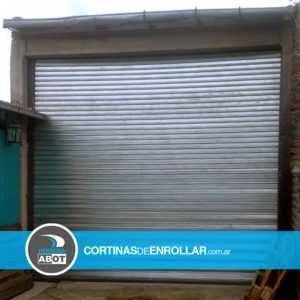 Cortina Galvanizada Ciega para Galpón (Ingeniero Jacobacci, Río Negro)