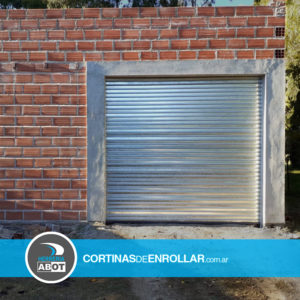 Cortina Galvanizada de enrollar ciega para garage (Saavedra, Buenos Aires)