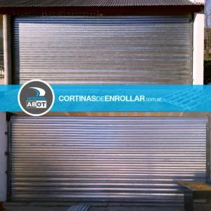 Cortinas de Enrollar Galvanizadas Ciegas para Garage (Lonquimay, La Pampa)