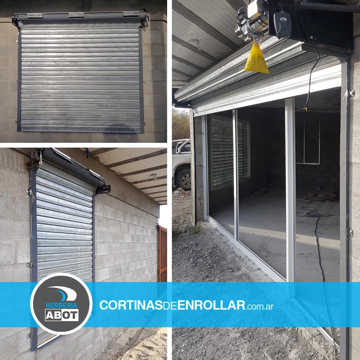 Cortinas de Enrollar Galvanizadas Microperforadas para el hogar (Comodoro Rivadavia, Chubut)