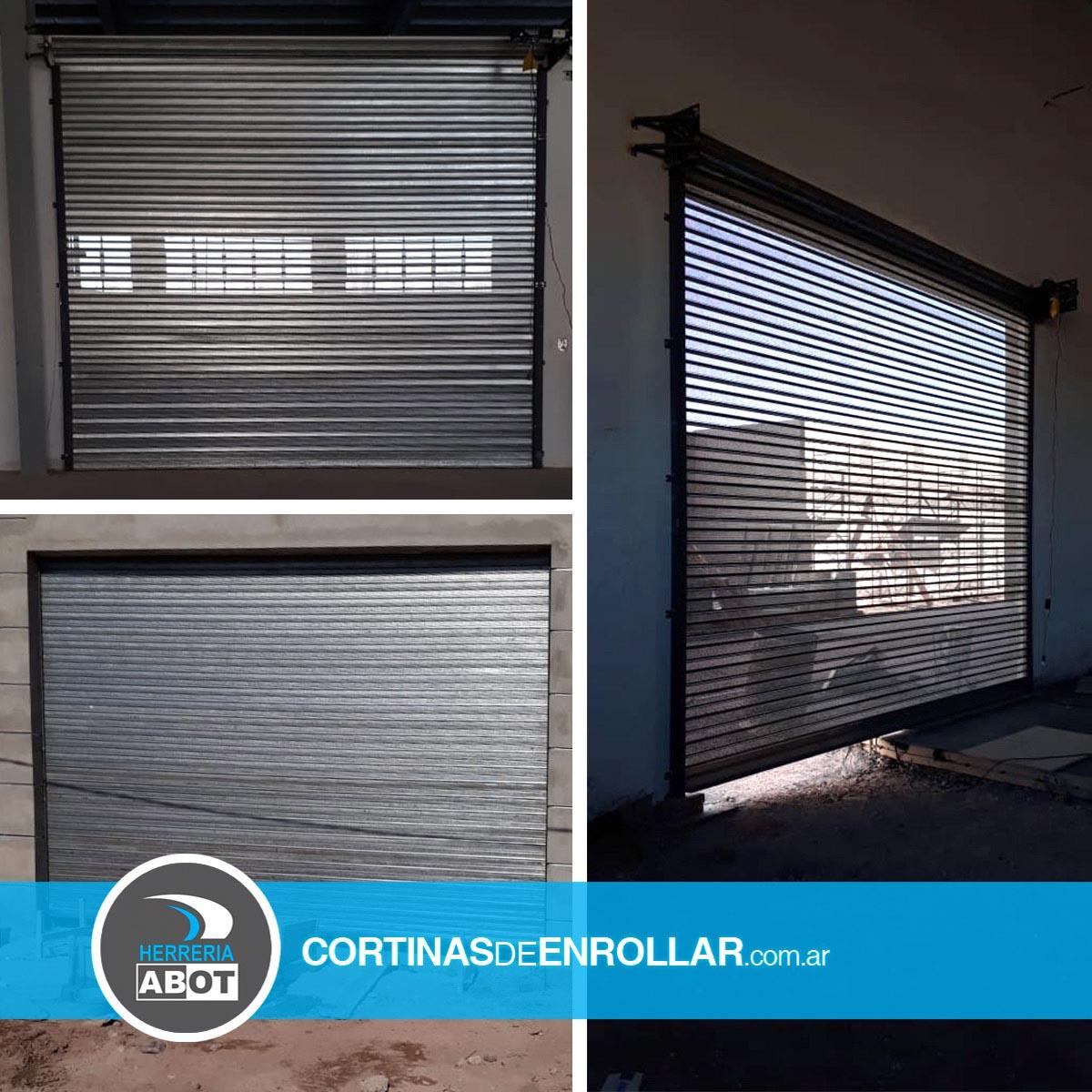 Cortinas de Enrollar Galvanizadas Microperforadas para Comercio (Neuquén, Neuquén)