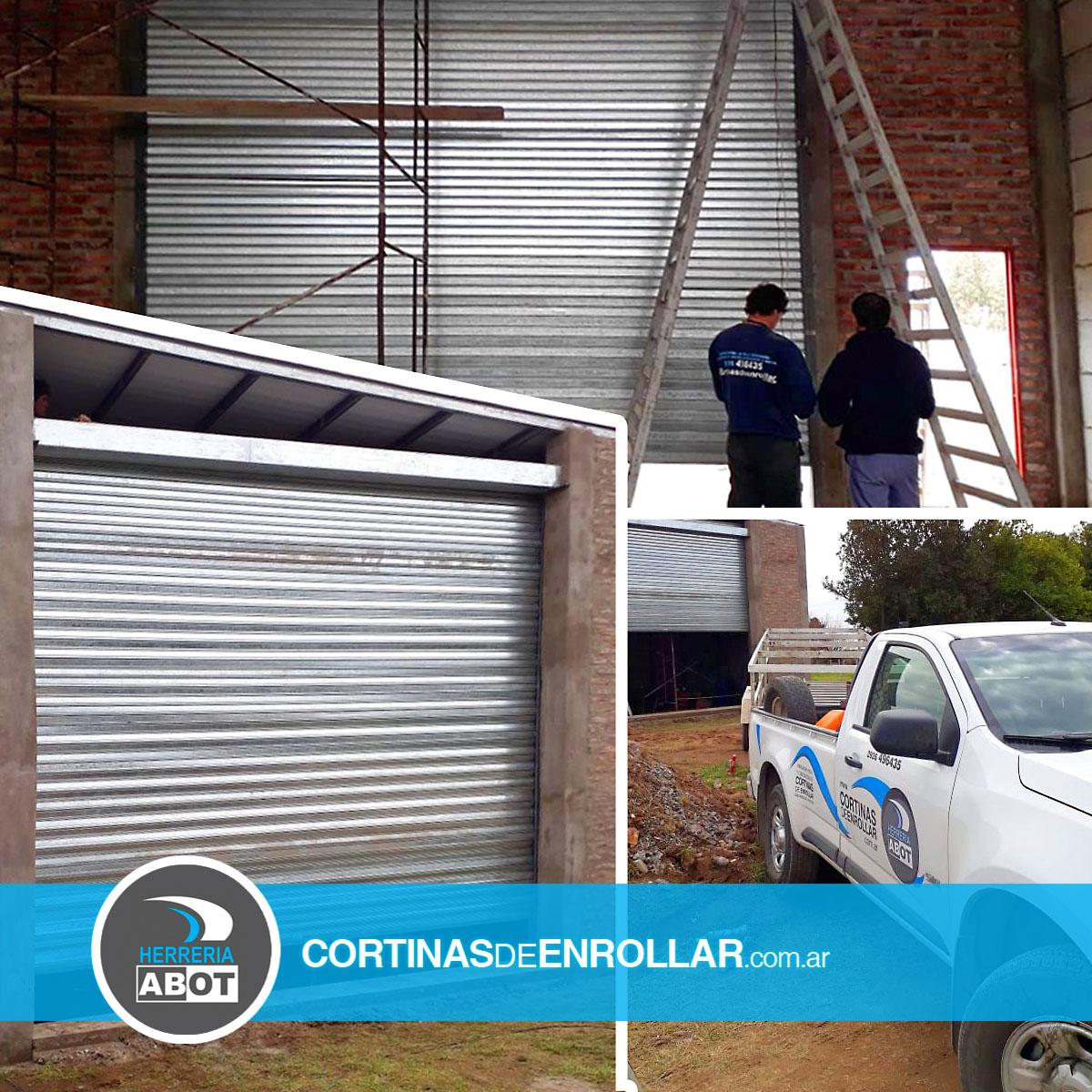 Cortina de Enrollar Galvanizada Ciega para galpón (Orense, Buenos Aires)