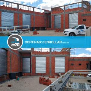 Cortinas de Enrollar Galvanizadas Ciega para local comercial (Los Menucos, Río Negro)